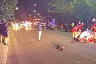 Bărbatul a pierdut controlul într-o curbă, din cauza vitezei - Un tânăr motociclist şi-a pierdut viaţa