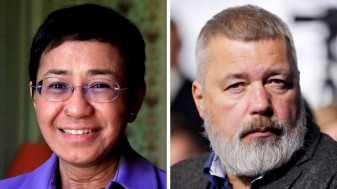 Jurnaliștii Maria Ressa și Dmitri Muratov - Au câștigat premiul Nobel pentru pace