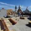 Palatul Episcopal Greco-Catolic - Acoperișul, refăcut până la mijlocul lunii iunie