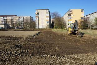 Lucrările au demarat în noiembrie - Parc nou în zona străzii Morii
