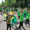 Flash Mob D.D.D în Parcul I.C. Brătianu - Învăţaţi să aibă grijă de mediu