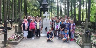 Copiii și tinerii din Parohia Subpiatră - Pelerini în Moldova