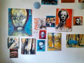 Horea Sălăgean. Experiment expresionist online - Expoziție personală de pictură