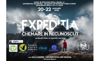 """În perioada 20-22 ianuarie, la Universitatea din Oradea - """"Expediția - Chemare în necunoscut"""""""