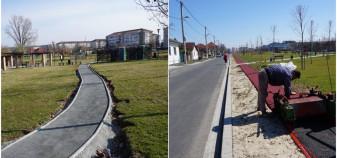 În parcurile Salca şi Barcăului - Două noi piste de alergare