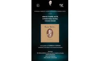 În Sala Mare a Primăriei Oradea - Prezentarea volumului Poeme