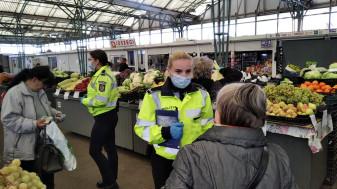 Acțiuni de verificare și informare ale Poliţiei Locale - Respectarea măsurilor de restricționare