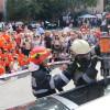 Salvatorii au sărbătorit împreună cu cei pe care îi protejează - Ziua Pompierilor din România