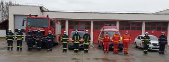 80 de ani de la înființare - Detașamentul de Pompieri Salonta