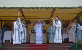 Moment înălțător pentru credincioși - Adormirea Maicii Domnului, prăznuită la Mănăstirea Izbuc