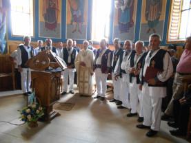 Preotul Aurel Copăcian din satul Luncşoara, comuna Auşeu, s-a pensionat - 37 de ani l-a slujit pe Dumnezeu