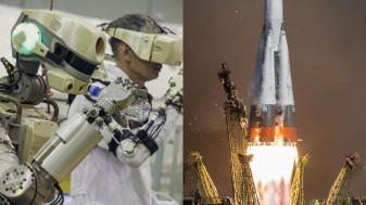 Robotul umanoid Fedor a ajuns pe Stația Spațială Internațională - A cerut scuze pentru întârziere