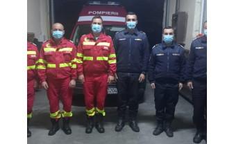 Un bărbat căruia i s-a făcut rău, dus cu maşina până în faţa subunităţii din Salonta - Salvat de pompieri