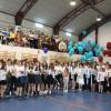 Ultimul sunet de clopoţel la Şcoala Dacia - Adio gimnaziu, bun venit liceu
