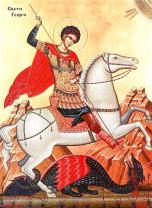 Sărbătoarea zilei - Sfântul Mare Mucenic Gheorghe, purtătorul de biruinţă