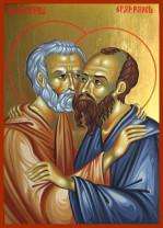 Sărbătoare, luni, 29 iunie - Sfinţii Apostoli Petru şi Pavel