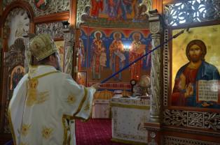 Biserica Parohiei Oradea Sfântul Pantelimon - A fost sfințită pictura