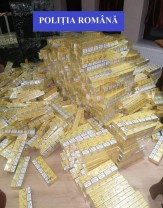 Şapte persoane reţinute, ţigări şi o autoutilitară confiscate - Percheziţii la contrabandişti