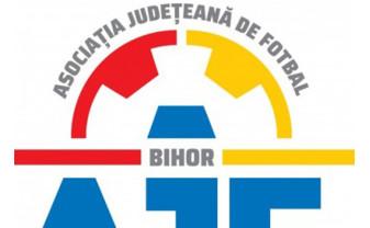 AJF Bihor - Programarea echipelor de fotbal la viza anuală
