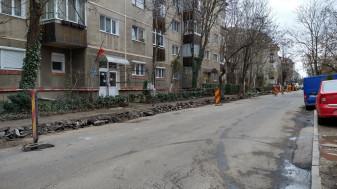 Pe strada Sovata - Lucrări de reabilitare