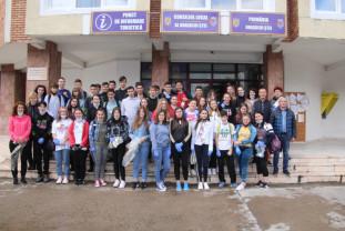 Campionatul bihorean al curățeniei - Șteienii au dat startul acțiunilor de ecologizare