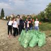 """Studenții orădeni au spus """"Da"""" curățeniei - Natura este casa noastră"""