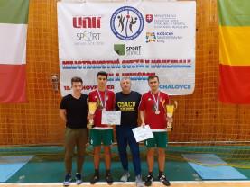 Campionatul Mondial de futnet - Medalii salontane în Slovacia
