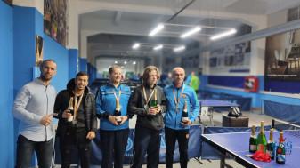 Primul concurs de tenis de masă al anului - Orădenii, în prim-plan la Turneul Amatur B