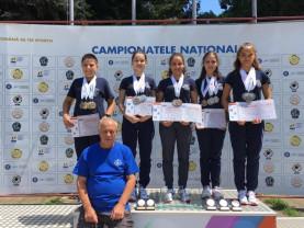 CSU Oradea a cucerit 13 medalii la tir sportiv - Parcurs peste aşteptări la naţionalele de juniori III