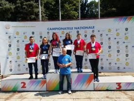 Zeci de medalii la naționalele de tir sportiv - CSU Oradea a cucerit cinci titluri
