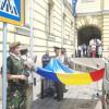 Oradea a sărbătorit Ziua drapelului - Simbolul unității românilor