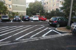 Locurile de parcare şi accesul auto pe strada Morii - Recepţia, luna viitoare