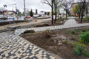Oradea. Bulevardul Nufărul - Cantemir - Noi zone de relaxare