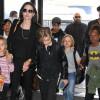 Investigaţia în cazul Pitt-Jolie a fost extinsă - Copiii, martori la dispute