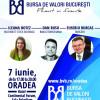 BVB: Pe 7 iunie, la Oradea, seminar gratuit de educaţie financiară