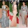 Metal fierbinte: Taylor Swift, Beyonce și Rita Ora au strălucit în haine futuriste la Gala Met