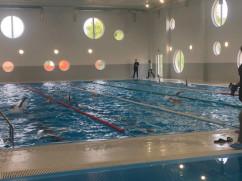 Săcueni. A fost inaugurat complexul de înot didactic - Primul din şase
