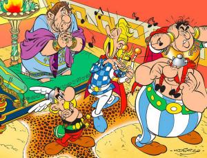 Un volum necunoscut din seria Asterix, lansat în Franţa - Menhirul de Aur