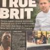 """""""Eroul cu făcăleț"""" de la atentatele din Londra - Primul român premiat de Regina Marii Britanii"""