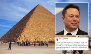 Elon Musk, invitat în Egipt după ce scris că piramidele au fost construite de extratereştri - O gafă sau un mesaj satiric?!