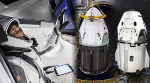 Astronauţi la bordul primei capsule construită de o companie privată - SpaceX face istorie