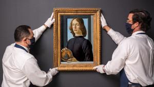 Un tablou de Botticelli, scos la licitație - 80 de milioane USD preţul de pornire