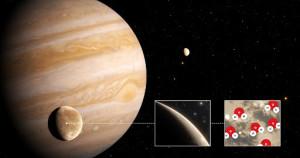Telescopul spaţial Hubble nu doarme niciodată - A descoperit apă pe Ganymede