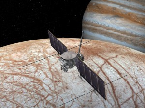 Vapori de apă descoperiți pe Europa, un satelit al lui Jupiter - Posibile forme de viaţă